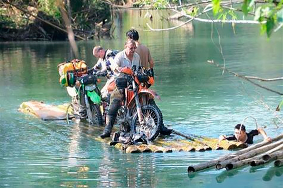 Deep in the jungle, traversing the missing link along the Thai-Burma border,